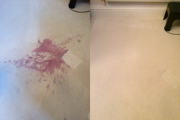 Morecambe wine stain removal