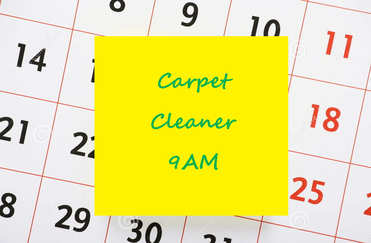Look after your carpet and upholstery and they will look after you!